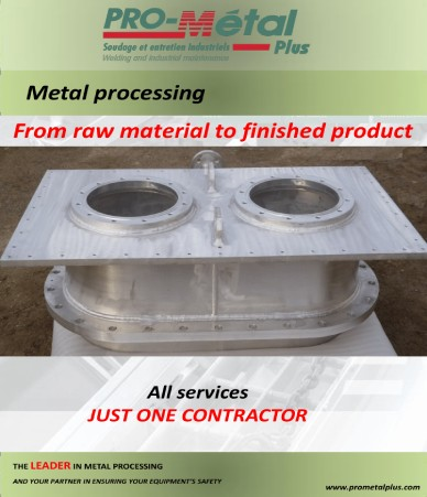 fabricated metal object